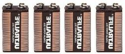 Four  Ultralife 9v Long Life Lithium Battery