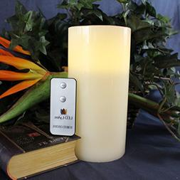 LED Lytes Flameless Candle Flickering - ONE Pale Yellow Pill