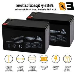 ExpertBattery 2 Pack - BATTERY REPLACEMENT. ENDURING 6-DW-7