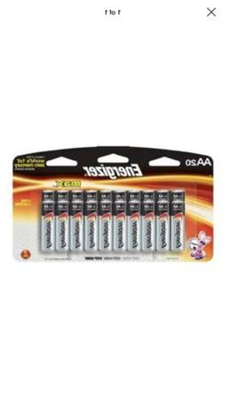 aa 20 max 20 pack alkaline battery