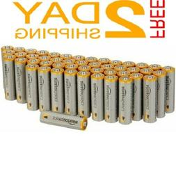AA Alkaline Batteries Performance AA Basics 48 Pack Double A