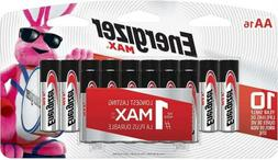 Energizer AA Batteries , Double A Max Alkaline Battery -