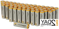 AA High Performance Capacity Alkaline Batteries, By AmazonBa