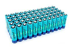 60pcs of Tenergy AA 2600 mAh high capacity NiMH Rechargeable