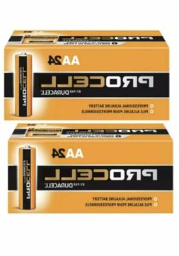 DURACELL AA  Procell Batteries Alkaline Battery 48 Count Exp