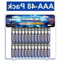 ACDelco AAA Batteries, Alkaline Battery, 48 Count Pack 48-Co