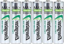 Energizer AAA Rechargeable NiMH Battery 800 mAh 1.2V x six