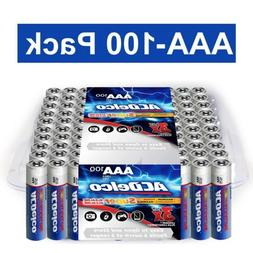aaa super alkaline batteries in recloseable package