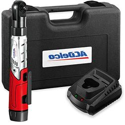 """ACDelco Cordless 3/8"""" Ratchet Wrench 12V Angled 55 ft-lb Too"""