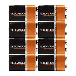 9 Volt Duracell Alkaline Batteries Coppertop 12 Batteries MN