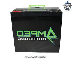 AMPED Outdoors 30AH Lithium Battery