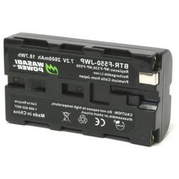 Wasabi Power Battery for Sony NP-F330, NP-F530, NP-F550, NP-