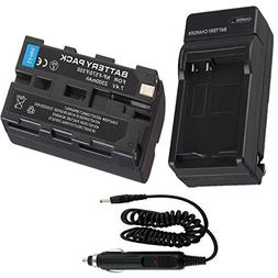 Battery + Charger for Sony CCD-TRV16 CCD-TRV36 Handycam Camc