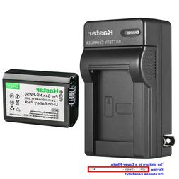 Kastar Battery AC Wall Charger for Sony NP-FW50 BC-VW1 & ILC