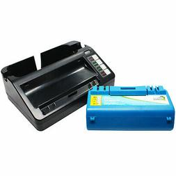 Battery & Universal Charger for iRobot Scooba 330, 5806, APS