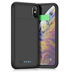 Battery Case for iPhone x/xs, Xooparc 5200mAh Protective Por