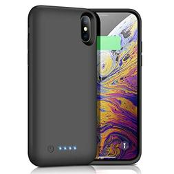 Battery Case for iPhone X/Xs/10 6500mAh, iPosible Portable C