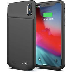 Battery Case for iPhone X/XS, 4000mAh Portable Protective Ch
