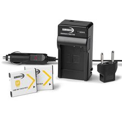 ClearMax Battery  and Charger for Sony NP-BN1 and Sony Cyber