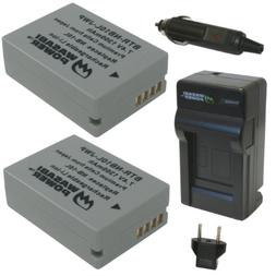 Wasabi Power Battery  and Charger for Canon NB-10L, CB-2LC a