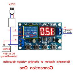 battery charger discharger board under voltage over
