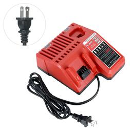 Replacement Battery Charger for Milwaukee 12V M12 & 18V M18