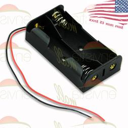 2S Battery Holder Case Clip Box  for 2X 18650 8V Li-Ion with
