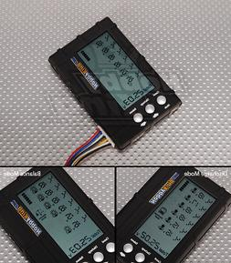 BATTERY MEDIC SYSTEM LCD 2-6S LIPO LIFE VOLTAGE CELL CHECKER
