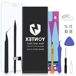 YONTEX Battery Replacement Compatible with iPhone 6S, 0 Cycl