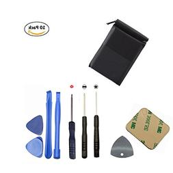 oGoDeal Battery Replacement Kit with Repair Tool Set for App