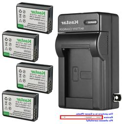 Kastar Battery Wall Charger for Canon LP-E10 LC-E10 & Canon