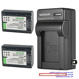 Kastar Battery Wall Charger for Genuine Sony NP-FV30 NP-FV50
