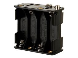 Velleman BH383B BATTERY HOLDER FOR 8 x AA-CELL