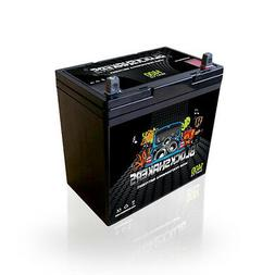 Black 12V 55AH 1400 Watts NB/T5 High Current Battery replace