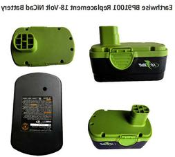 Earthwise BP91001 Replacement 18-Volt NiCad Battery For Mode