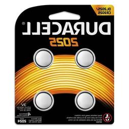 Duracell - Button Cell Lithium Battery #2025, 4/Pk DL20254PK
