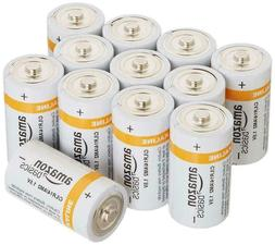 C Cell Everyday Alkaline Batteries  by Amazon Basics