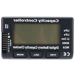 7 battery capacity voltage checker tester cell