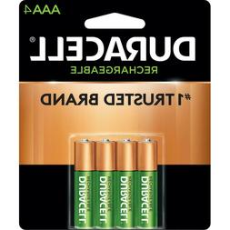 Duracell Pre Charged Rechargable Batteries Aaa 800 Mah Nimh