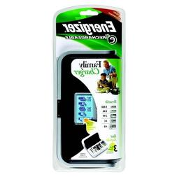 Energizer Recharge Universal Charger AA, AAA, C, D, 9V