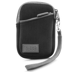 USA Gear Compact Digital Camera Case Sleeve for Nikon COOLPI