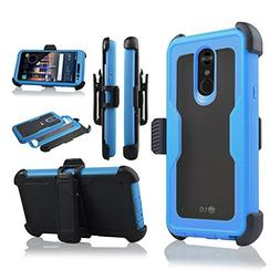 Compatible with LG Stylo 4 Case Full Cover Built in Screen P