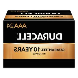 DURACELL CopperTop Alkaline AAA Batteries, 24 Pack