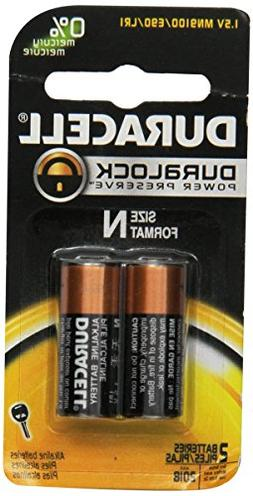 Duracell Coppertop Alkaline N Batteries, 2 Count