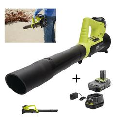 Ryobi Cordless Leaf Blower Electric Hand Held Battery Powere