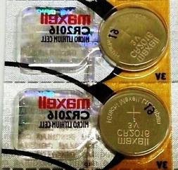 CR 2016 MAXELL LITHIUM BATTERIES  3V Watch 2016 New Authoriz