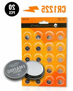 EmazingLights CR1225 Batteries 3v Button Cell Lithium Batter
