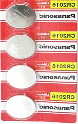 6 Pack -- Panasonic Cr2016 3v Lithium Coin Cell Battery Dl20