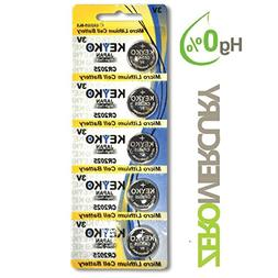 CR2025 Battery - 5 pcs Pack - 3V Lithium Buttom Coin Cell Ba