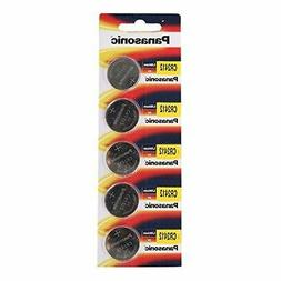 Panasonic CR2412 3V Lithium Battery 1PACK X  =5 Single Use B